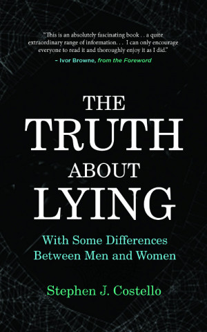 The Truth about Lying book cover